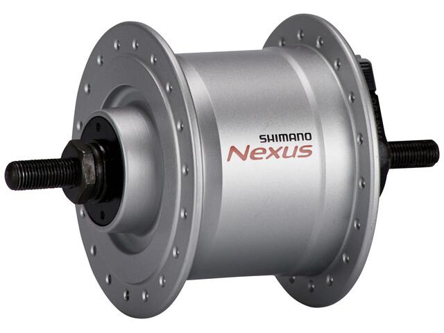 Shimano Nexus DH-C3000-3N Nabendynamo 3 Watt für Felgenbremse/Schraubachse Silber